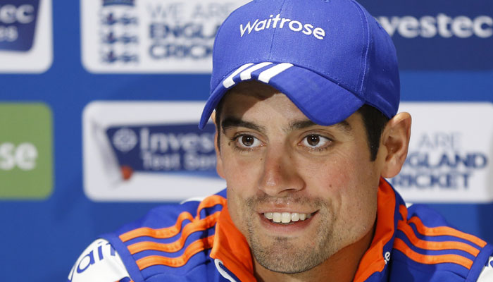 Alastair Cook cricketer