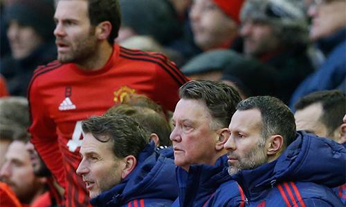 Giggs đang là nhân vật số hai trong ban huấn luyện Man Utd, sau Van Gaal. Ảnh: Reuters.