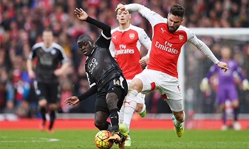 Leicester có một tuần trọn vẹn được nghỉ ngơi khi không phải đá Cup FA cuối tuần sau. Ảnh: Reuters.