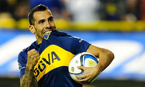 Tevez đang hạnh phúc ở Boca Juniors, nơi anh trở về sau nhiều năm phiêu bạt ở trời Âu.