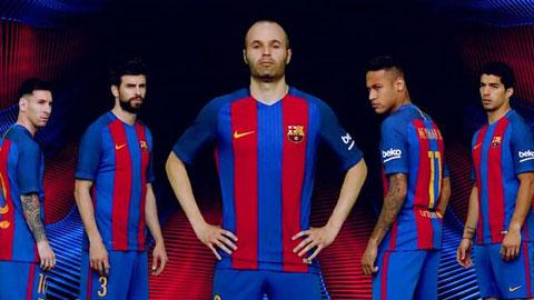 Barca bất ngờ được đại gia tài trợ áo đấu lên tới 120 triệu bảng