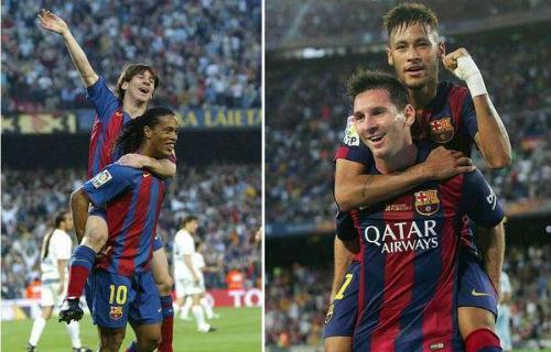 Ronaldinho cho rằng không ai có thể vượt qua Messi