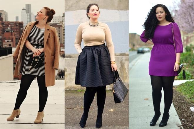 8 bí quyết mặc đồ cho người béo tròn