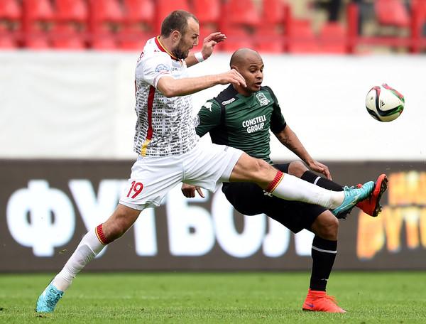 Cuộc đối đầu giữa Arsenal Tula và Krasnodar