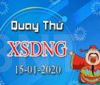 Dự đoán KQXSDN ngày 15/01 chuẩn 100%